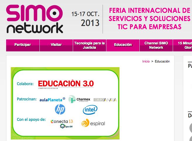Conecta13 en SIMO Network 2013