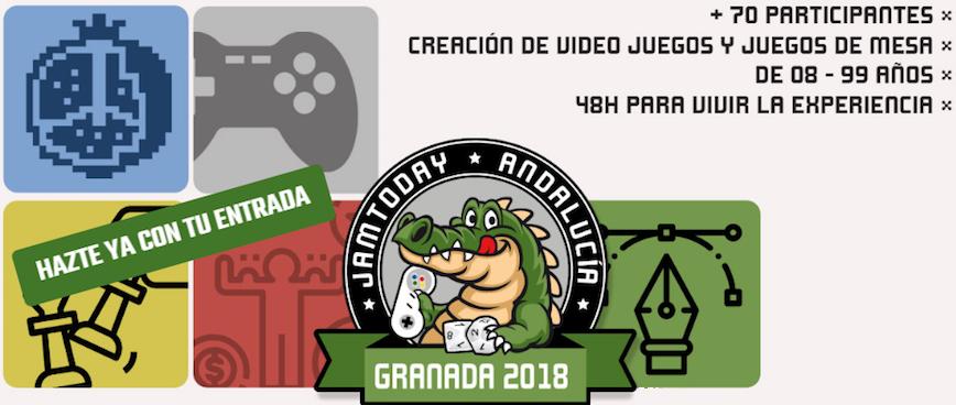 JamToday Granada, 48h para crear el mejor videojuego educativo