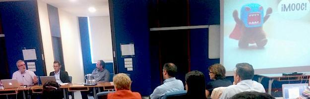 Sesión i-deo con Jordi Adell y Esteban Romero y making-of del #easpMOOC13