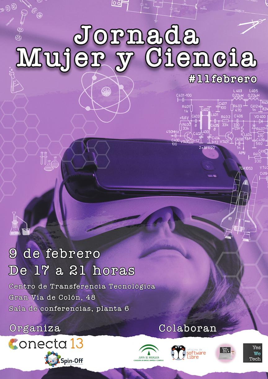 Jornada Abierta Mujer y Ciencia 2018