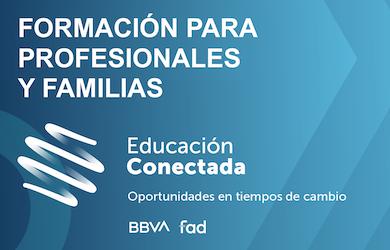 Nueva convocatoria de cursos de Educación Conectada dirigida a profesorado y familias