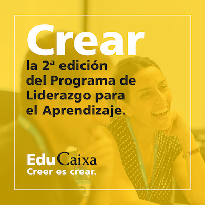 Convocatoria abierta: Programa Liderazgo para el aprendizaje de EduCaixa